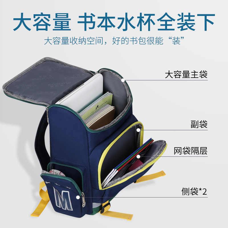 Anak Tas Sekolah Anak Laki-laki Anak Perempuan Anak-anak Ortopedi Sekolah Ransel Anak Tas Sekolah Tahan Air Ransel Sekolah Dasar Back Pack