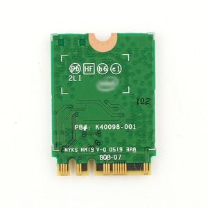 Image 2 - ثنائي النطاق 2.4Gbps واي فاي 6 AX200NGW 802.11ax/التيار المتناوب MU MIMO 2x2 واي فاي ل AX200 NGFF M.2 بلوتوث 5.0 شبكة Wlan بطاقة + هوائي