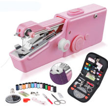Portable Manual Sewing Machine Mini Electric Stitch Household Cordless Needlework Set Repairs DIY Clothes Stitchin Sew Tools