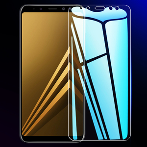 Image 2 - 3 قطعة الزجاج المقسى واقية لسامسونج غالاكسي A6 A8 J4 J6 زائد 2018 شاشة حامي الزجاج سامسونج A5 A7 A9 J2 J8 2018 الزجاج