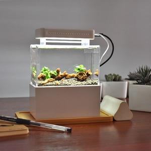 Mini Plastic Fish Tank Portabl