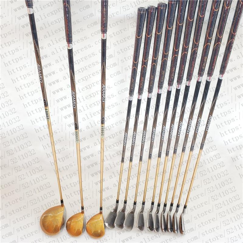 Men golf clubs Honma Beres S-07 4star golf club set intermediate golf clubs/ golf irons+driver+fairway wood+putter (14 pcs/set) 6