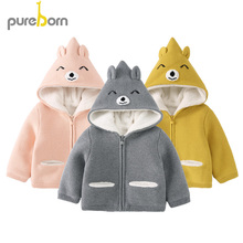 Pureborn Toddler Unisex Baby Sweater Jacket Cardigan Cartoon