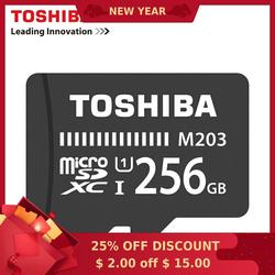 Карта памяти TOSHIBA 128 Гб 64 Гб 256 ГБ SDXC Max UP 100 МБ/с./с Micro SD карта SDHC-I 32 Гб 16 Гб U1 класс 10 официальная проверка