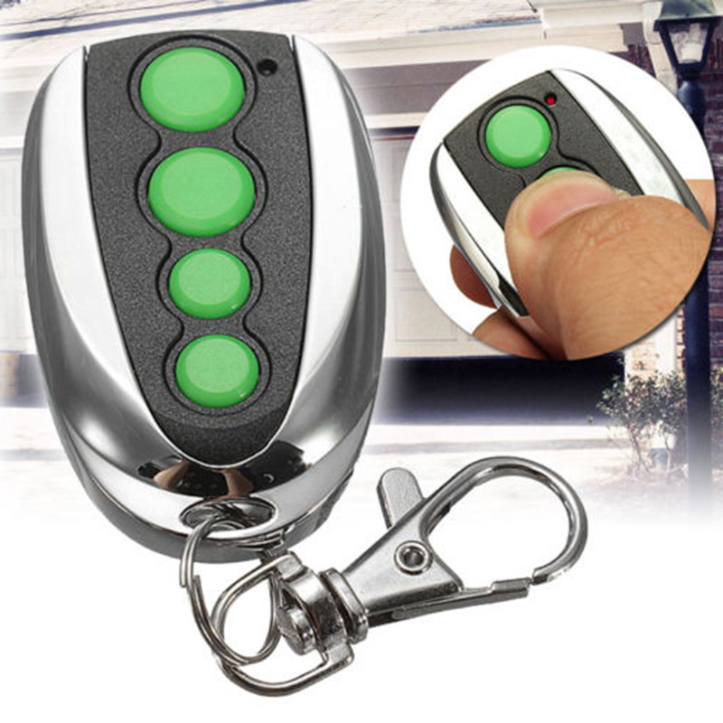 1 Piece 433MHz  Remote Key Control Compatibles For Merlin M842 M844 Compatible Garage Gate Door  Garage Door Hardware