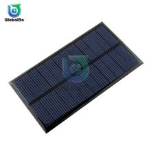 Solar Panel 6V Mini Solar System DIY For DC Battery Cell Phone Chargers Portable 0.6W 1W Solar Cell For Toy Smart Home Lighting