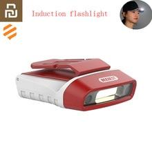 Youpin Beebest lampe de poche à Induction COB LED lampe frontale à Induction 100LM 5 Modes détection des gestes 180 ° USB Rechargeable étanche