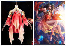 Hot Game Arena of Valor Da Qiao Cosplay Costume King of Glory New Skin Fancy Dress Christmas Halloween Party Costumes for Women(China)