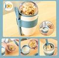 Joie Портативный кофейная чашка для Многофункциональный овсянка чашки Крупы PP Материал гайка кружка для йогурта чашка для закусок с крышкой ...