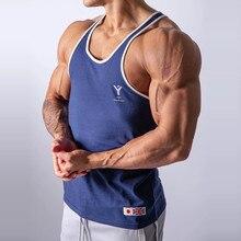 Japão & reino unido lyft 2020 dos homens musculação algodão tanque topo academias de fitness sem mangas camisa masculina roupas moda singlet colete undershirt