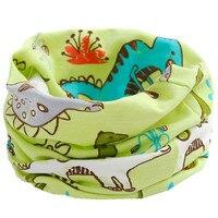 Bufanda de algodón de 100% para niñas y niños, baberos, anillo redondo, bufanda, Collar, novedad, Otoño e Invierno