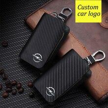 Auto Schlüssel Fall Carbon Faser Abdeckung Für Audi A3 A4 A4L B7 B8 B9 A5 A6 A6L C5 C6 Q3 q5 Q7 S5 S7 RS3 TT Auto schlüssel Protecor Mit Logo
