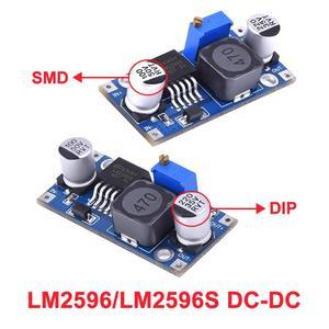 Модуль питания LM2596 LM2596s, Регулируемый понижающий модуль питания, 3 А, регулятор напряжения 24 В, 12 В, 5 В, 3 в, с регулировкой напряжения, с регули...