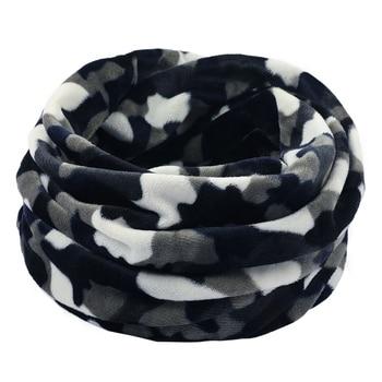 Unisex Winter Women Men Sports Thermal Fleece Scarf Snood Neck Warmer Face Mask Warmer Face Mask Beanie Hats Snood 919 6