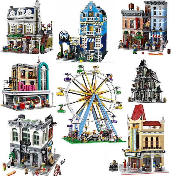 15011 Creator Series Detective's Office Avengers Set Building Blocks 2262pcs Bricks Toys 10246 10247 10260 10251 10232 10231