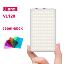 Ulanzi-luz LED para vídeo CRI 95 regulable, 3200K-6500K, foto de cámara, Vlog, iluminación fotográfica, relleno