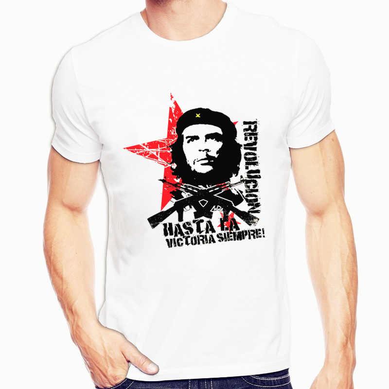 Che Guevara, Camisetas estampadas con cuello redondo para hombres, camisetas de moda para hombres y mujeres, camiseta de manga corta, camiseta Unisex