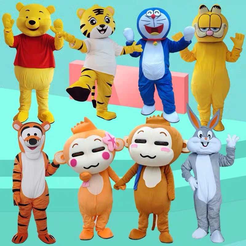 Versi baru Explorer Dora Maskot Kostum Dewasa Pesta Ulang Tahun Kostum Halloween Kostum Cosplay Pakaian Xmas
