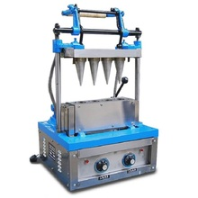 Ice cream wafer cone baking forming machine   for Beverage Shop