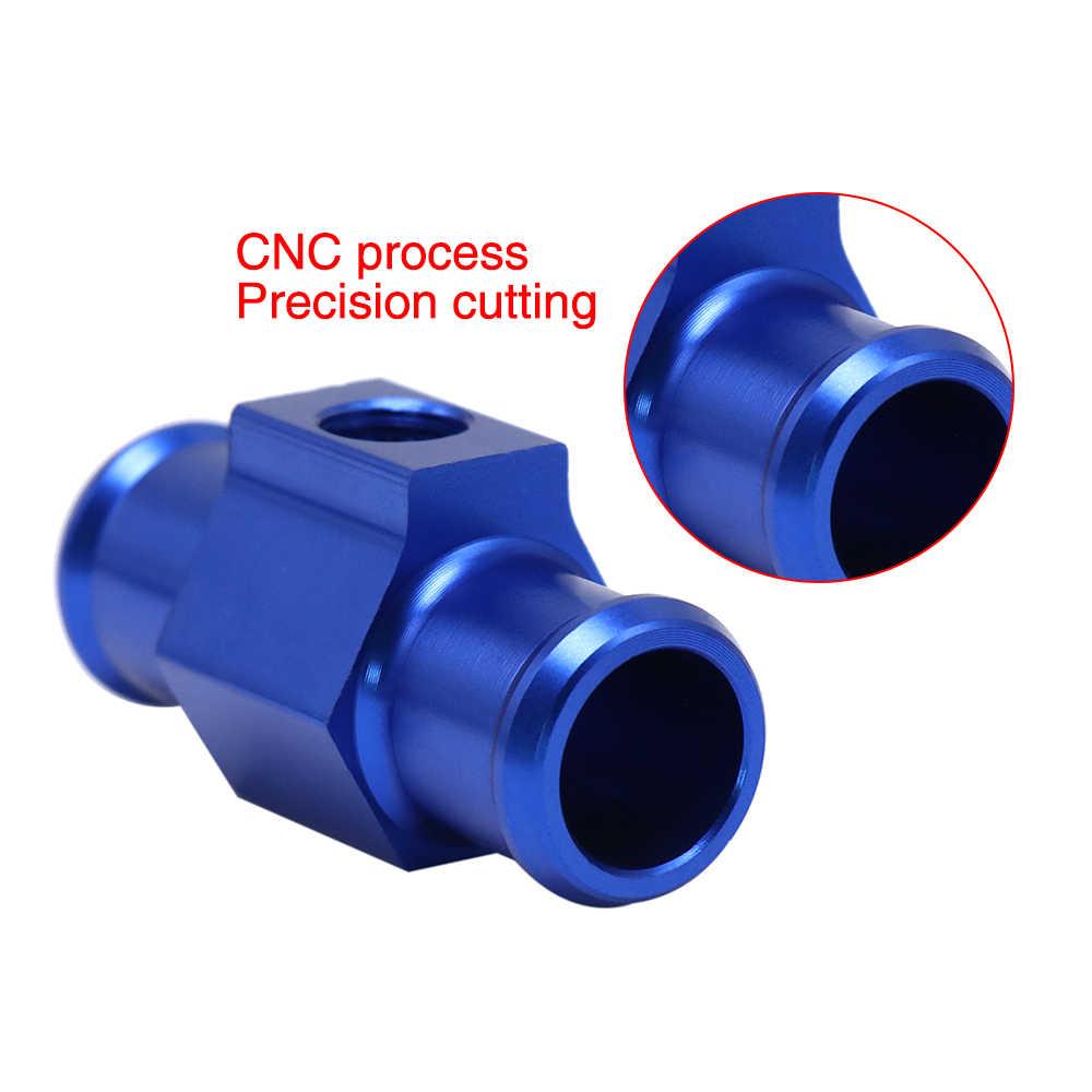 Wassertemperaturmesser-Temperaturmesser-Verbindungsrohr Wassertemperatur-Verbindungsrohr 18mm Aluminium-Motorrad-Temperatursensor-Adapter