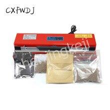 HJ105 Desktop Hand Pressure Sealing Machine Plastic Aluminum foil Food Bag Supermarket laminator 3MM Heat