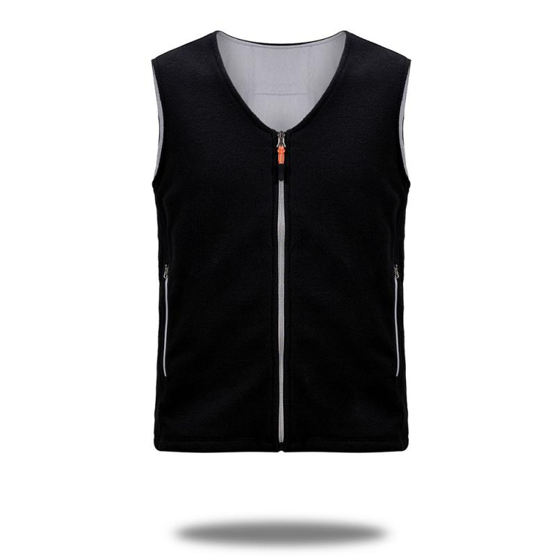 Winter USB Infrared Heating Vest Jacket Electric Thermal Clothing Waistcoat For Women Men Outdoor Camping Cycling Hiking New 8
