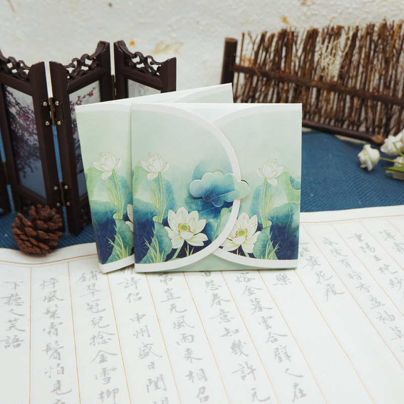 Retro Chinese-style Special Shape Antique Style Beautiful Joint Set Small Gifts Of Circle Bookmark Ribbons Tassels