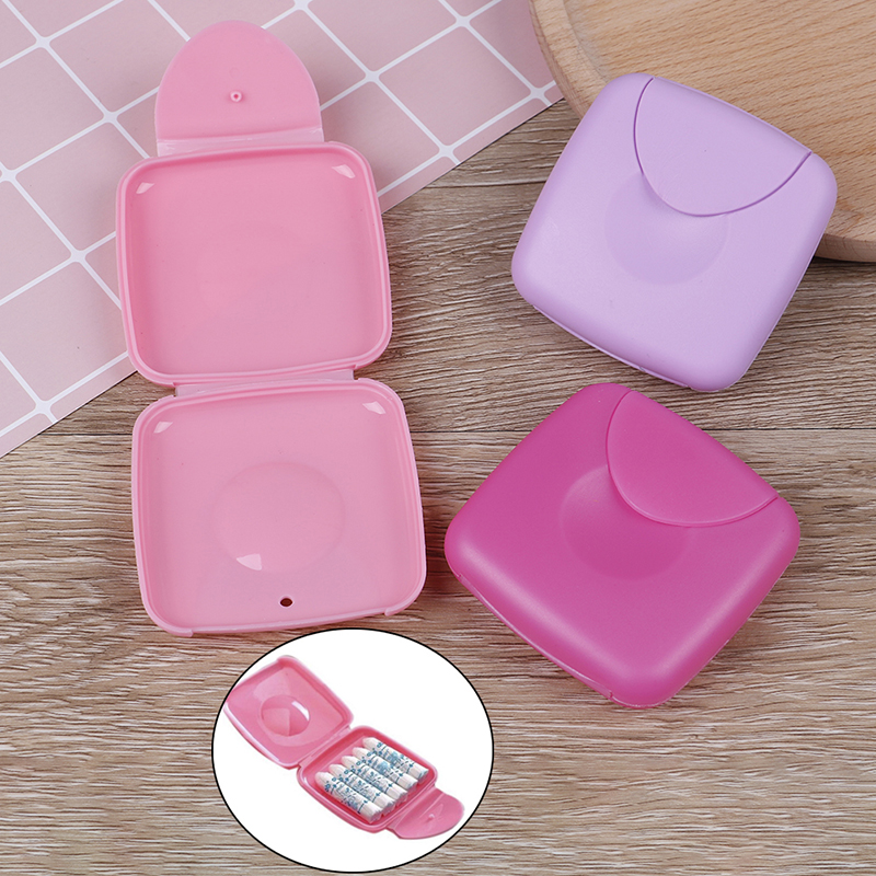 Portable Vaginal Tampons Box Sanitary Napkin Swab Tampon Box Vagina Tampons Similar With Menstrual Cup To Keep Tampon