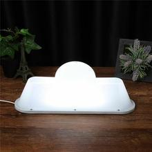 Saim 37 см белый светильник ing usb cab знак лампа Сделай Сам