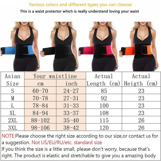 Waist Trainer Belt Body Shaper Belly Wrap Trimmer for DS