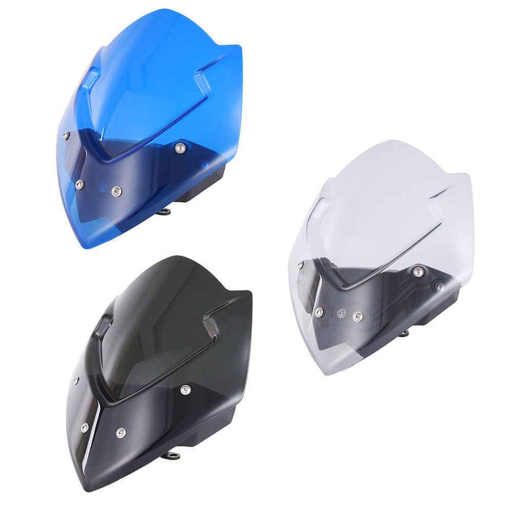 blu Parabrezza e Deflettori Adatto per Suzuki GSXS1000 GS-XS 1000 GSX-S 1000 2016 2017 2018 2019 2020 2021,GSXS 1000 Cupolino per Parabrezza AHOLAA Parabrezza per Moto