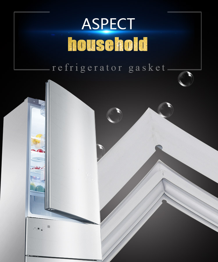 Strip-Gasket Refrigerator Door-Seal Glass Shower-Door Magnetic Plastic for Environmental title=