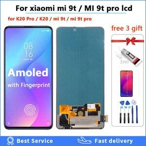 Original AMOLED For Xiaomi Mi 9T Pro mi9t LCD 6.39