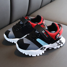 Childrens shoes Breathable Anti-Slip platform Sneakers Kids boy spring autumn Soft Soled Non-slip Casual Light Sport Shoes  #M