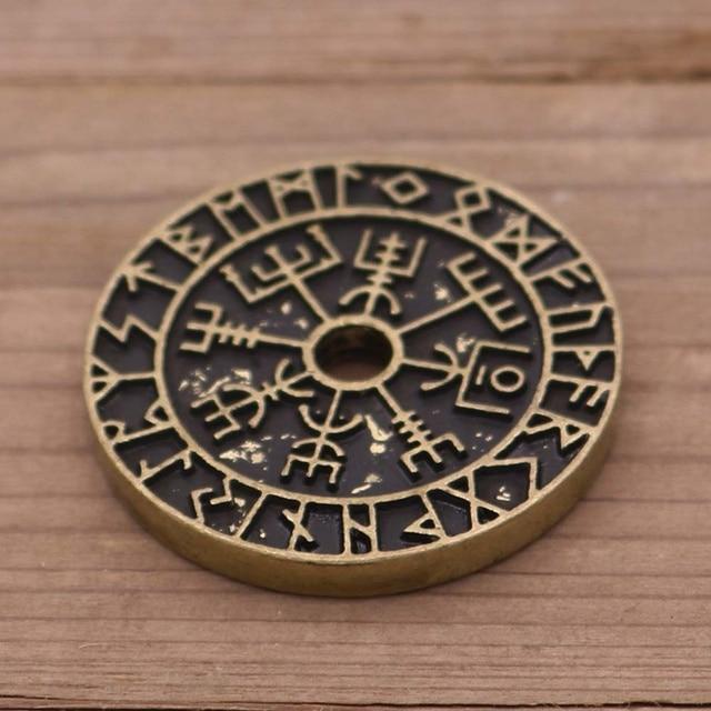 Pendentif Viking boussole Rune  6