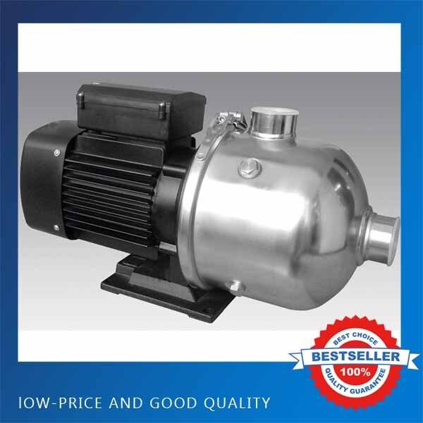 Pompe centrifuge horizontale à plusieurs étages triphasée d'acier inoxydable de CMF12-25T 380V pompe de refroidissement de Machine pressurisée