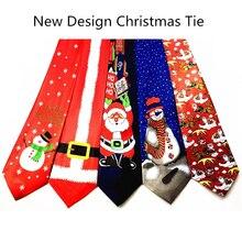 GUSLESON дизайн Рождественский галстук 9,5 см Стиль мужские модные галстуки Хеллоуин праздничный галстук Мягкий дизайнерский персонаж галстук