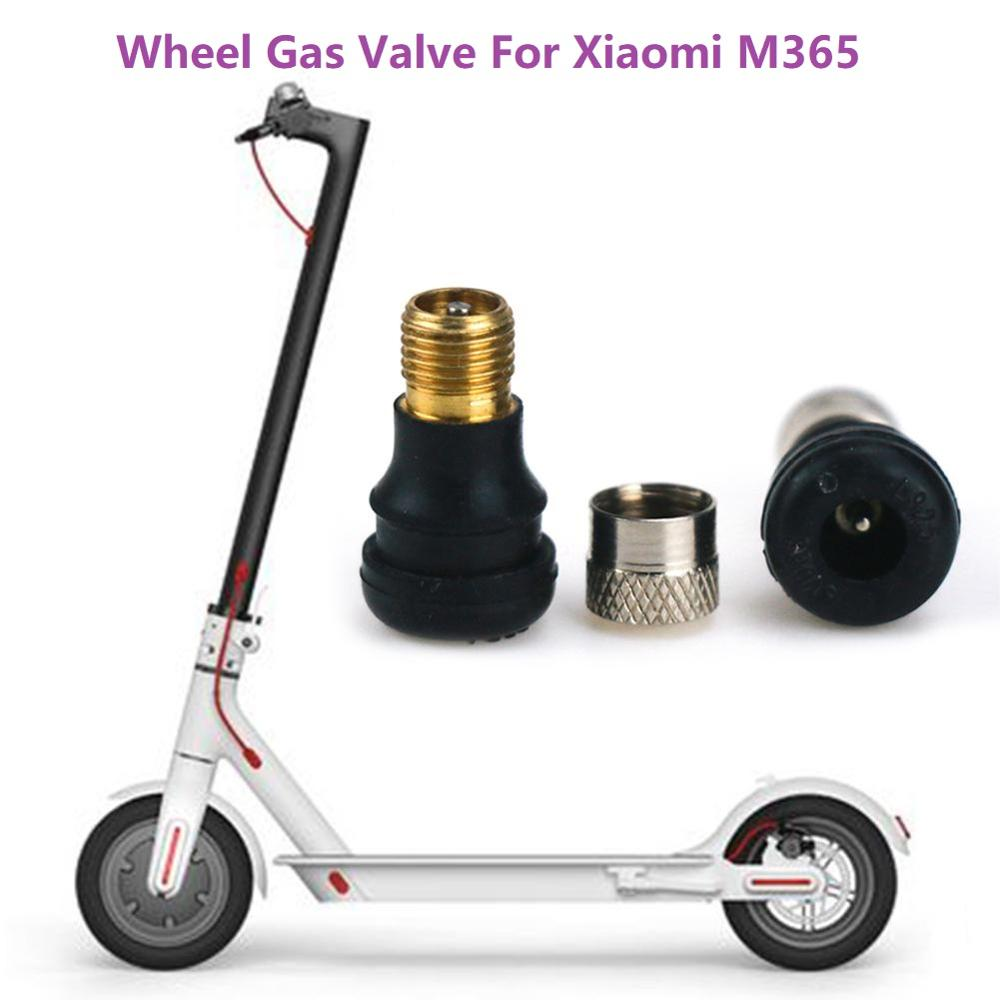 Vacuum Valve For Xiaomi M365 Electric Scooter Vacuum Tire Valve M365 Pro Scooter Front And Rear Wheel Gas Valve Bike Accessories