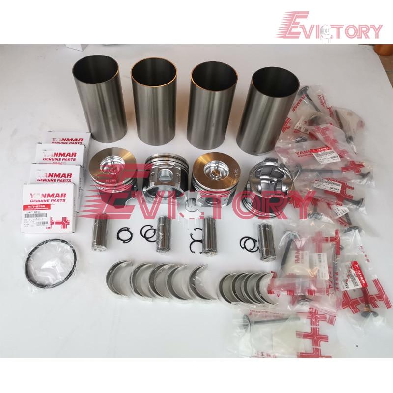 4TNV98 rebuild kit + valve