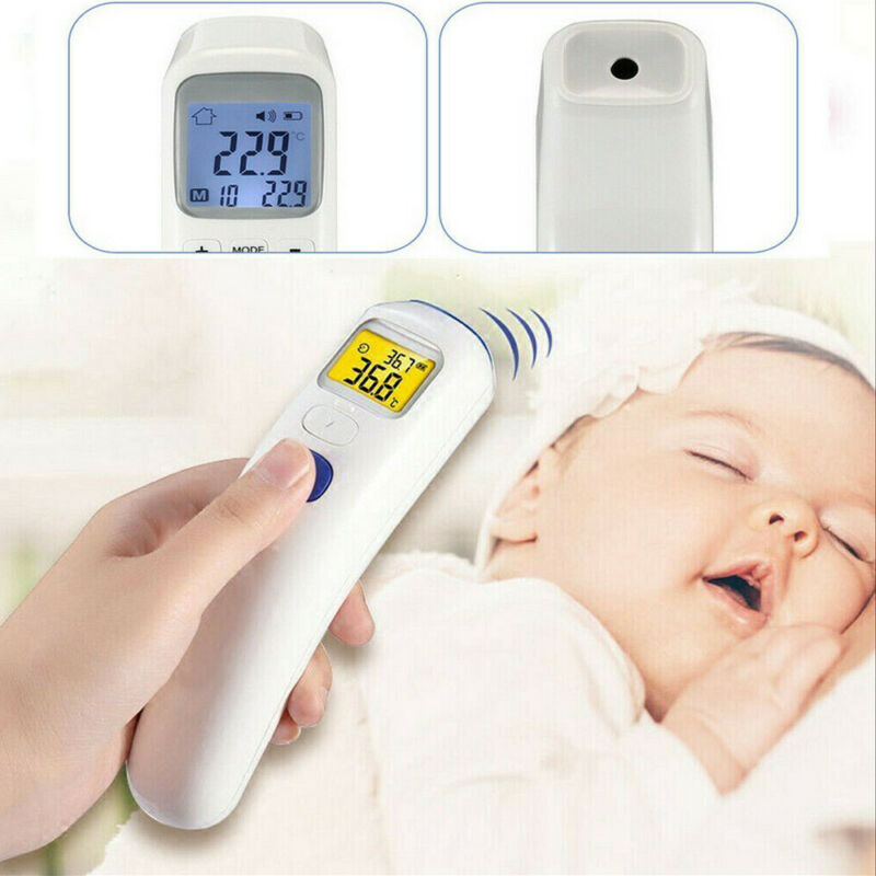 Goocheer Electronic Infrared Thermometer LCD Display Digital Laser Frontal Body Temperature Thermometer in <font><b>Baby</b></font> <font><b>Health</b></font> <font><b>Care</b></font> image