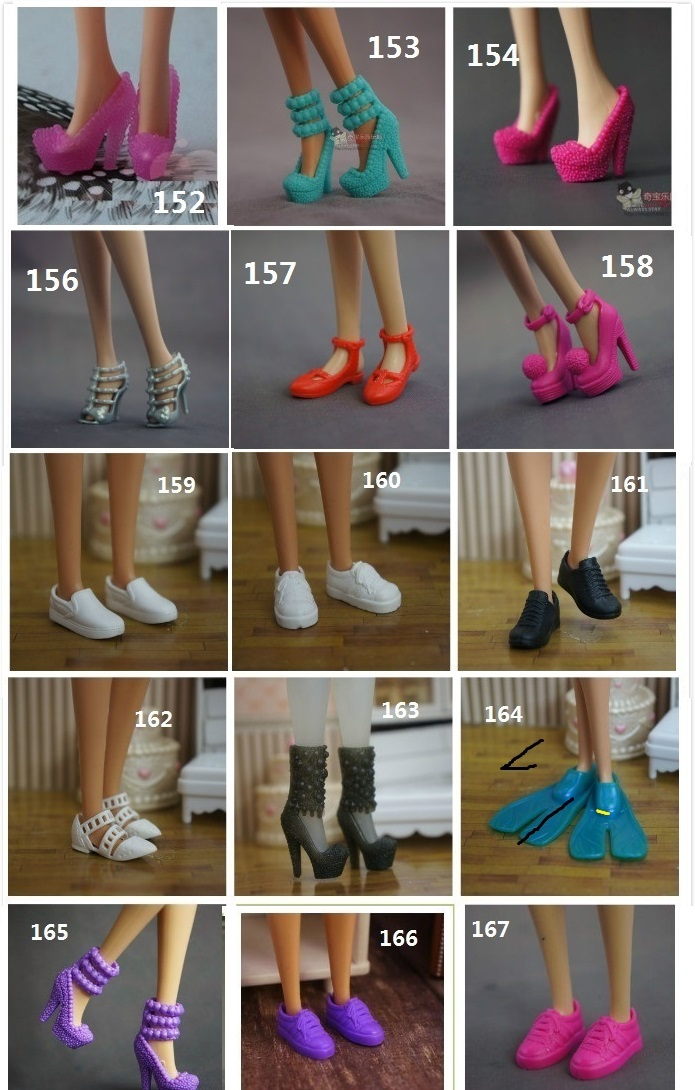 for barbie shoes 6