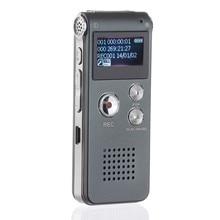 8 ГБ/16 Гб Диктофон ЖК-экран перезаряжаемый цифровой аудио звук Запись MP3 плеер