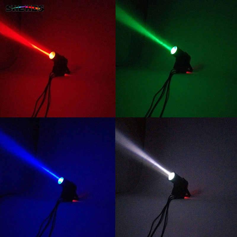 DJ Kecapi DMX Panggung Lampu LED Moving Head LED Beam 12X12W RGBW Panggung Profesional DJ Mini LED 10W Spot balok Rumah Shehds