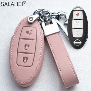 Image 5 - Auto Schlüssel Abdeckung Schutz Fall Für Nissan Qashqai J10 J11 X Trail t31 t32 kicks Tiida Pathfinder Murano Hinweis juke 370Z Cube Micra