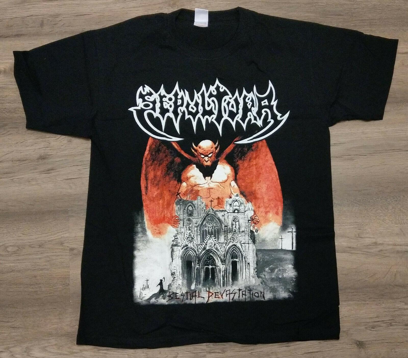 Sepultura Baby Bodysuit Personalized Newborn Soulfly Cavalera Death Metal Shirt
