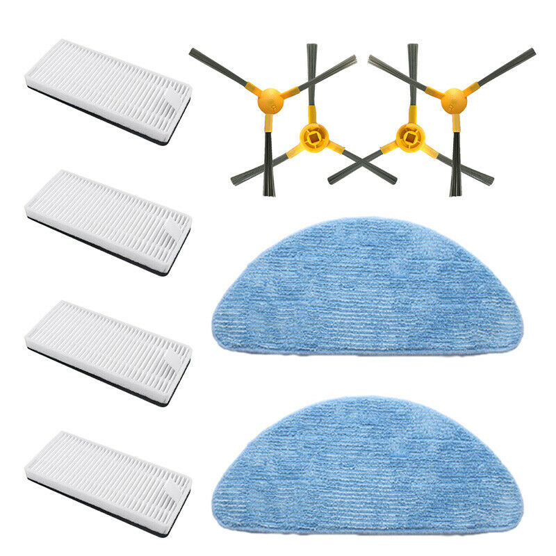 Top Deals Rags +Filters + Sponges + Brushes Set For Neatsvor X500 Sweeper Vacuum Cleaner