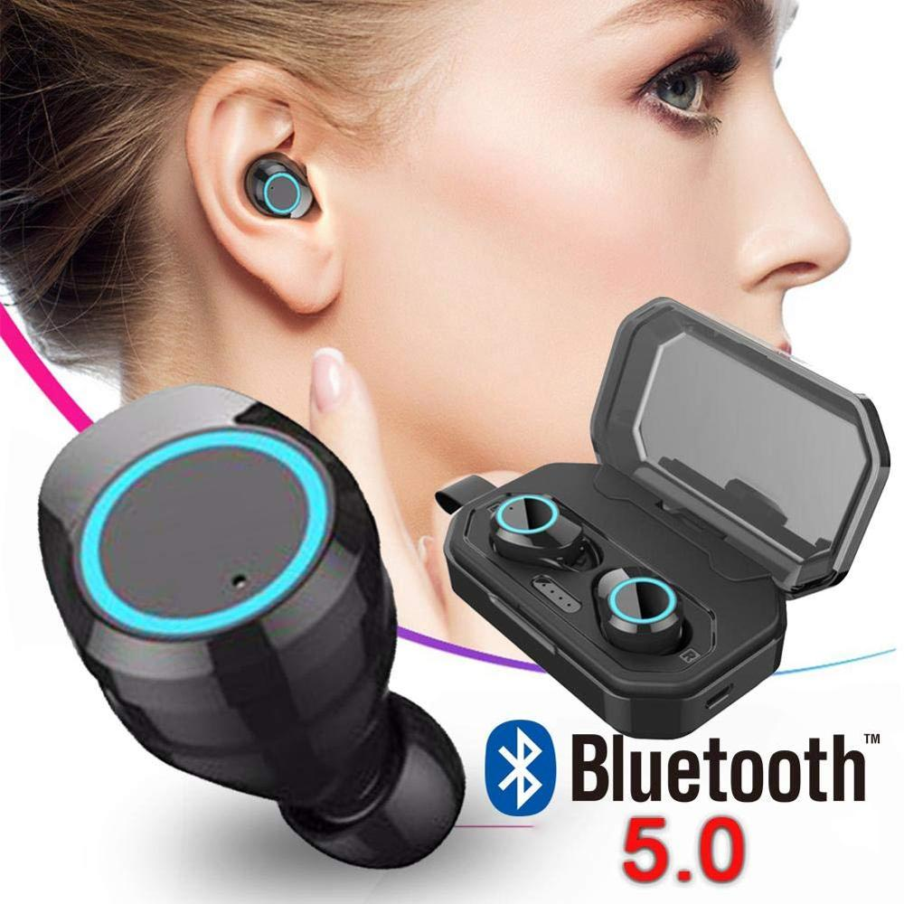 befon X6 TWS 5.0 Bluetooth Earphone Waterproof Hi-Fi Stereo Wireless earphone with Mic 3000Mah Charging for IOS Android