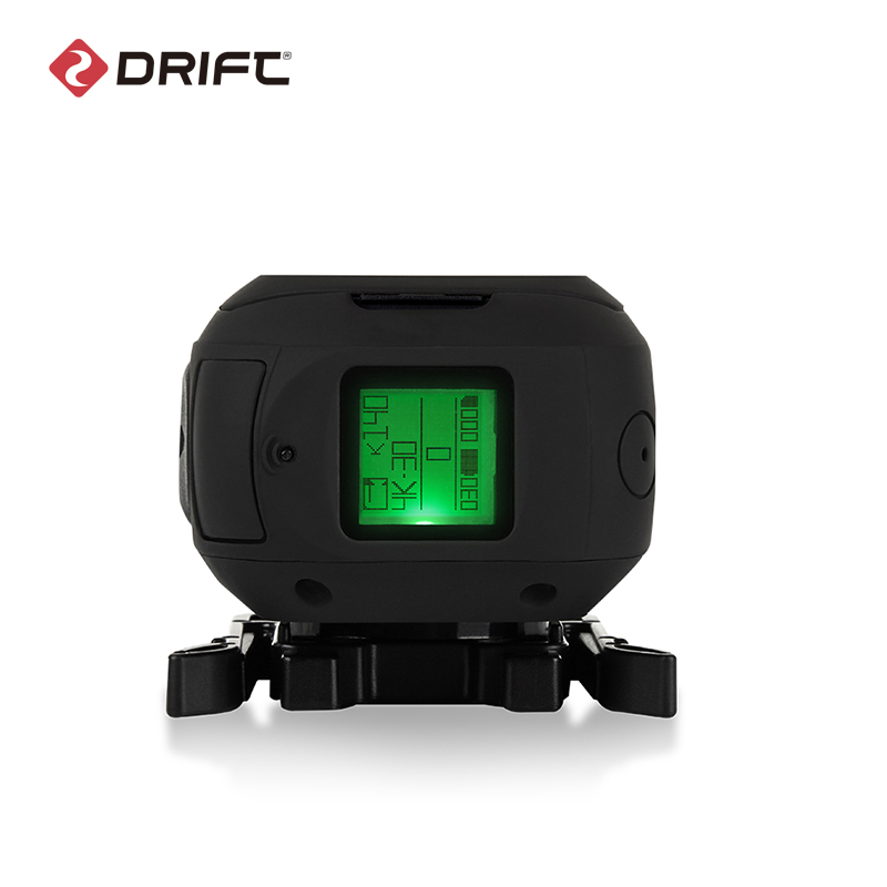 Drift Ghost 4K+ Plus Action Sports Camera Motorcycle Bicycle Bike Mount Helmet Cam with WiFi 4K HD Resolution External Mic 4