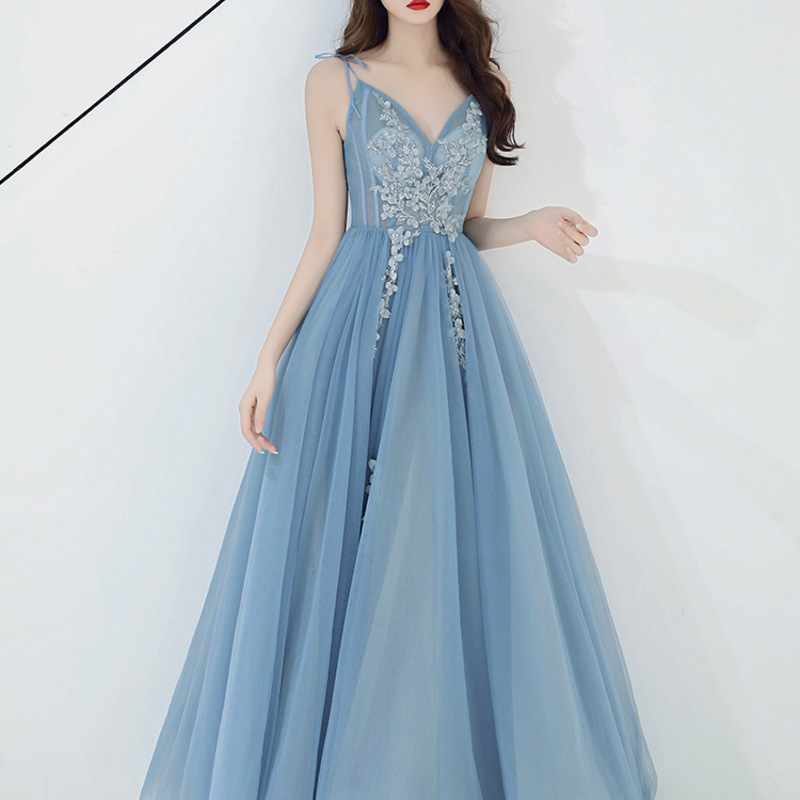 Party Dress Female 2020 New  Noble Temperament Socialite Party Summer Dress To Wear At Ordinary Times