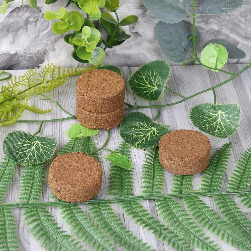 Coconut Fiber Coir Pellet Nutrient Soil Lightweight Plant Compressed Base Garden 72XF
